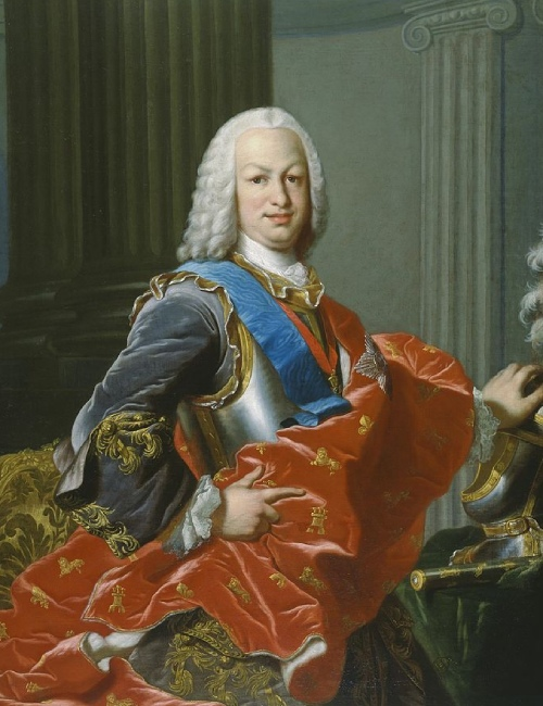 Portrait du monarque espagnol Ferdinand VI