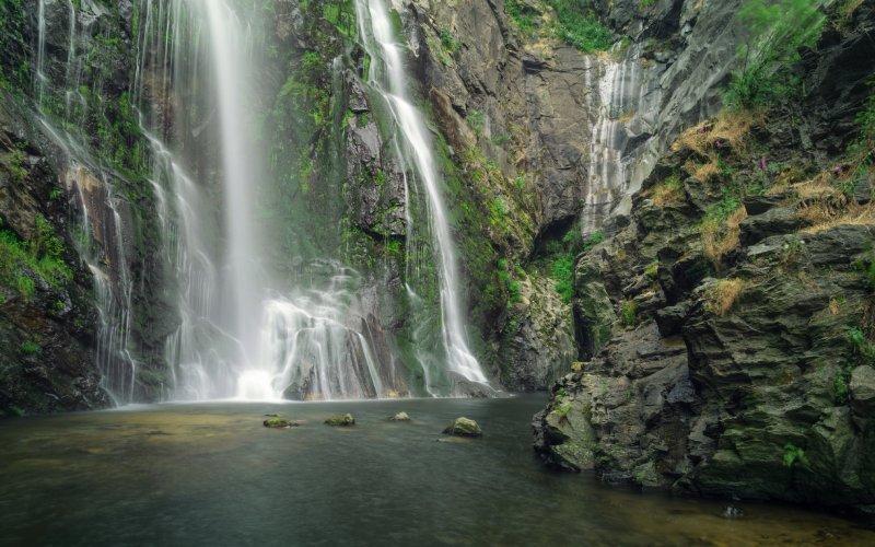 Les chutes d'eau de Toxa
