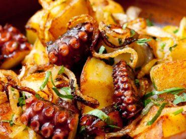 Fritá de poulpe, une recette typique de Formentera