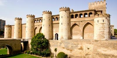 Aljafería de Zaragoza capital
