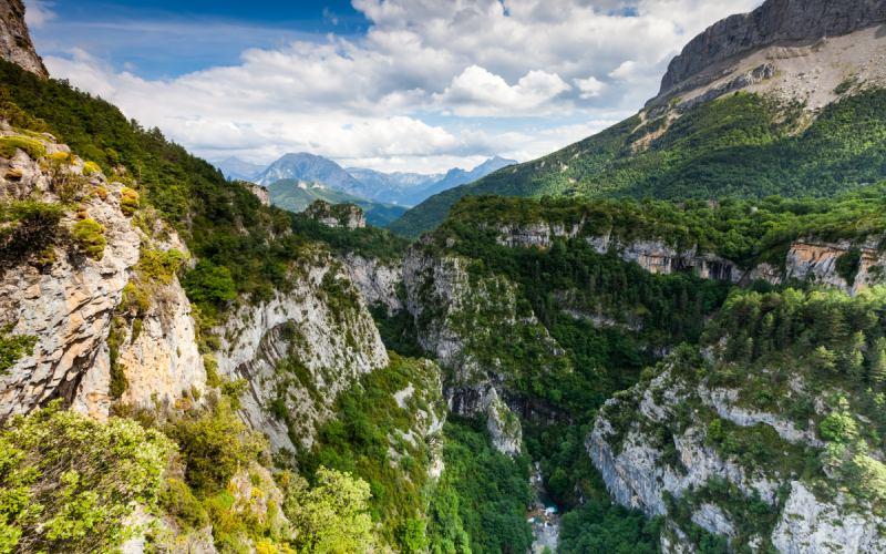 Les Gorges profondes d'Escuaín