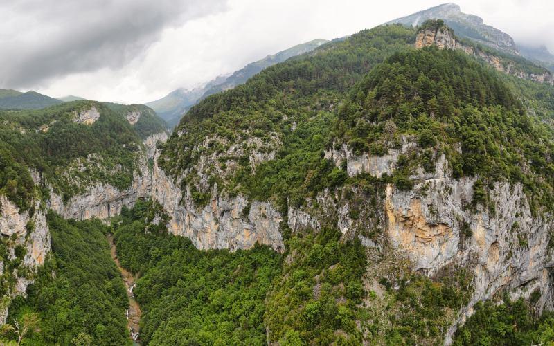 Fôrets supérieures et inférieures des Gorges d'Escuaín