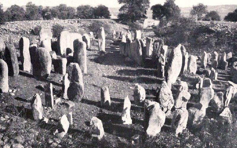 Dolmen de Guadalperal en 1925