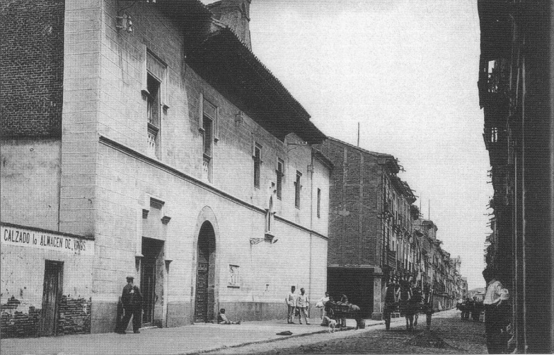 Ancienne image de l'Hôpital de Antezana