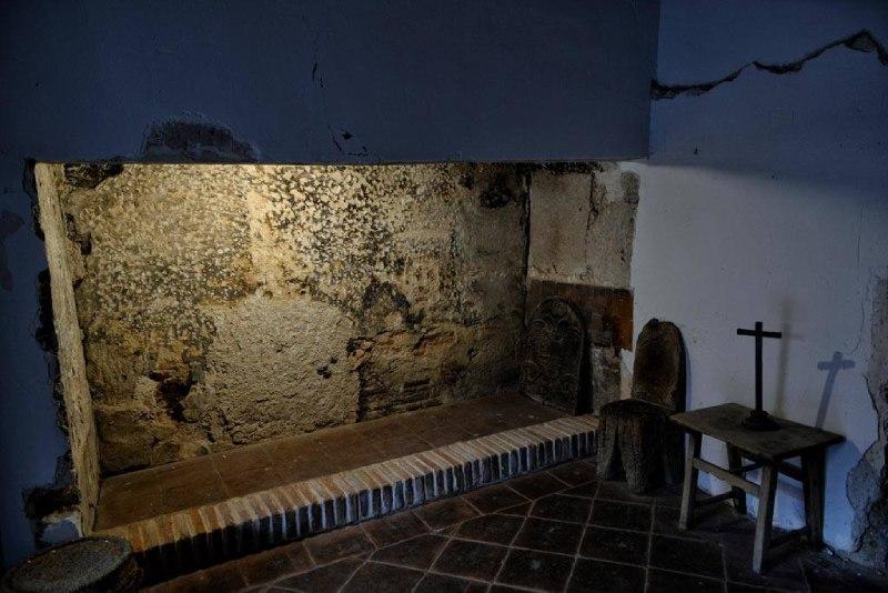 Chambre de Saint Ignace de Loyola à l'hôpital d'Antezana