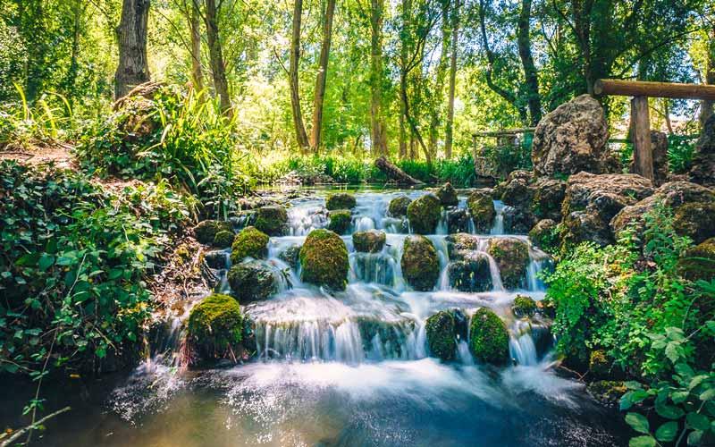 Source de la rivière Huéznar