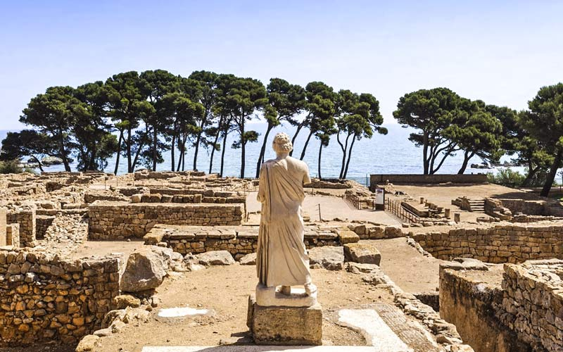 Ville gréco-romaine d'Ampurias (Tarragone)