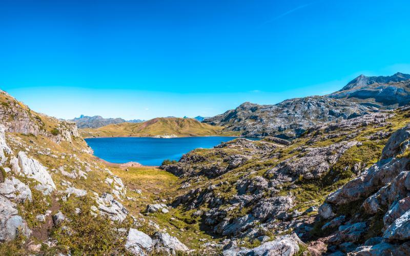 Lac glaciaire d'Estanés à Huesca