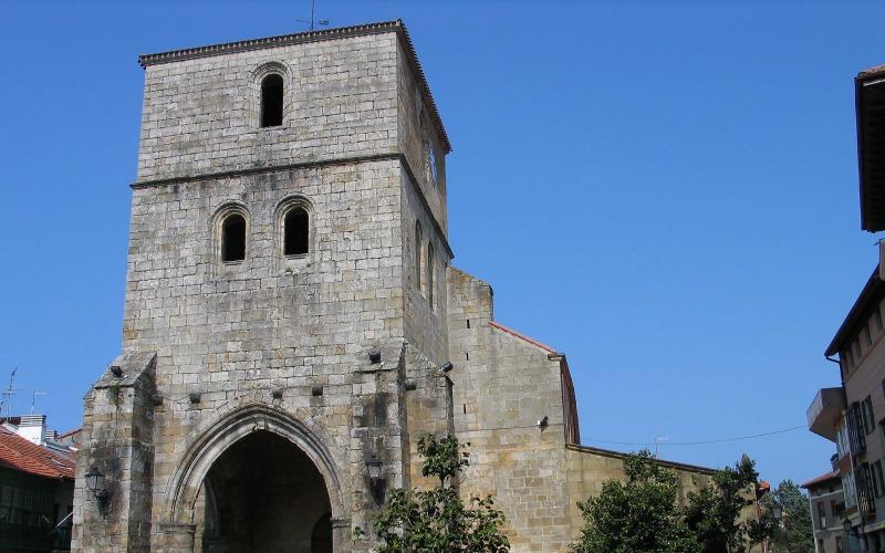 Église Santa María Magdalena à Plentzia
