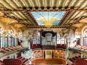Palais de la musique catalane, joyau moderniste de Barcelone