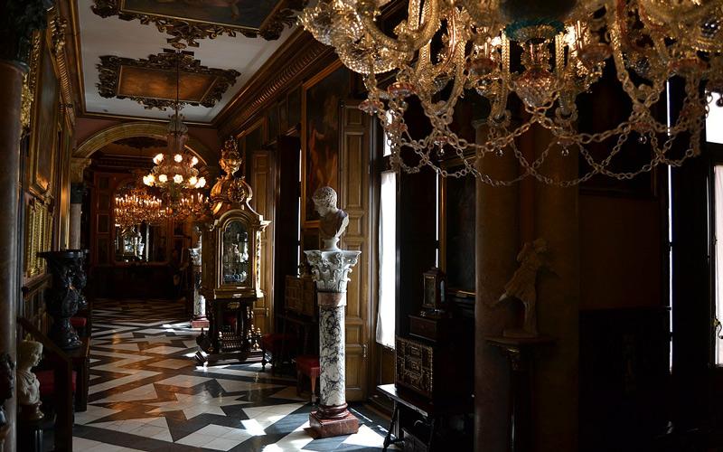 Couloirs du musée Cerralbo