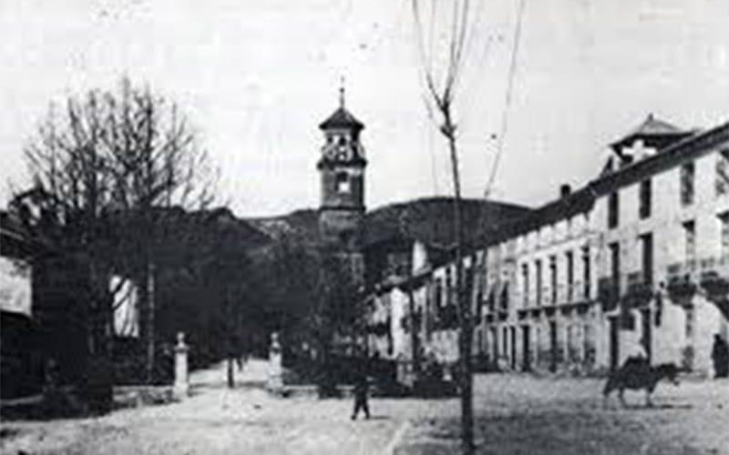 Image de la localité aux annés 50