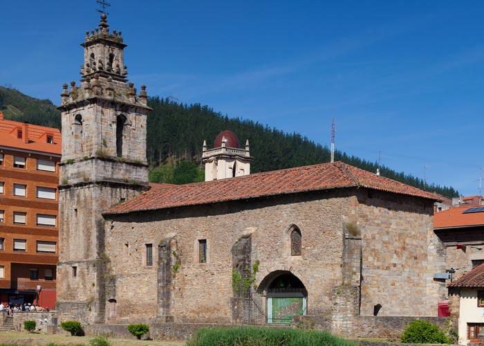 iglesia gotica san juan bautista balmaseda