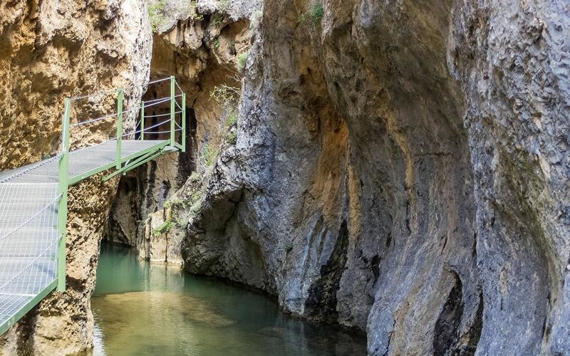 Route du Ravin de la Hoz, Calomarde