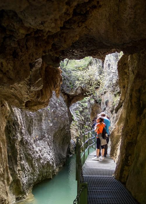 Route à travers le Canyon des Arcos, Sierra d'Albarracín