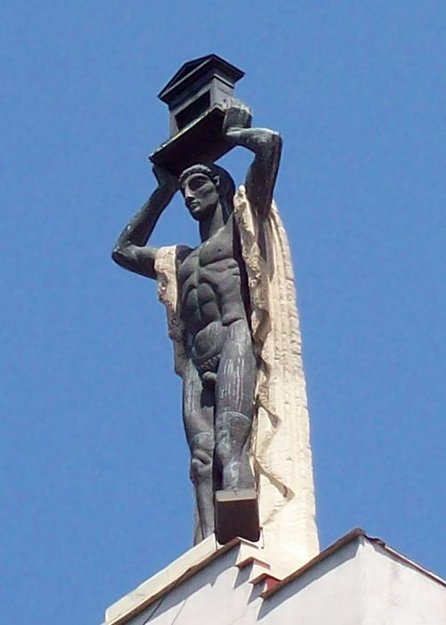 Le colosse ou Romain portant la maison