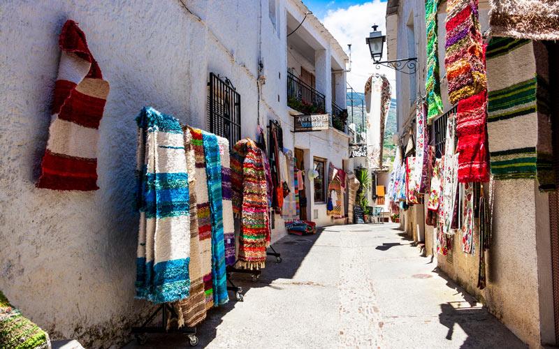 Rues de Pampaneira