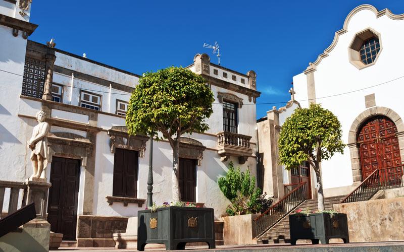 Église San Agustín à Icod de los Vinos