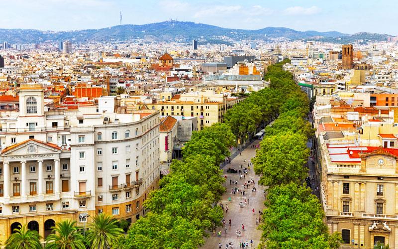 Ramblas de Barcelone