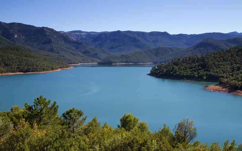 Panoramique des montagnes de Cazorla, Jaén