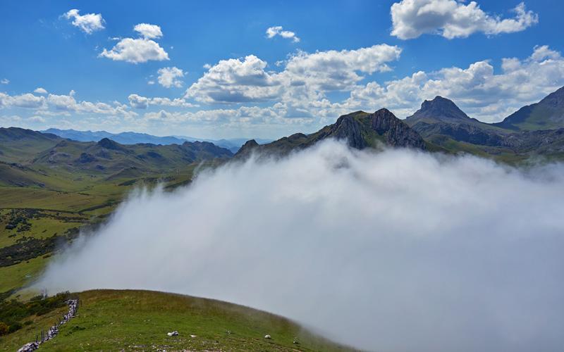 Col de la Cubilla dans les Asturies