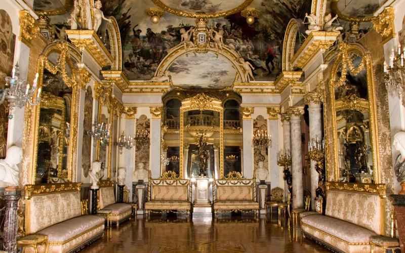 Salla de bal du Musée Cerralbo