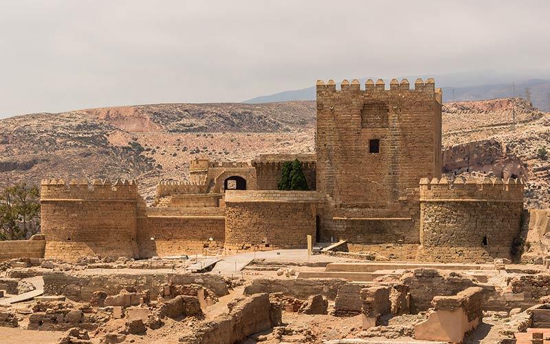 Enceinte fortifiée de l'Alcazaba (Almería)