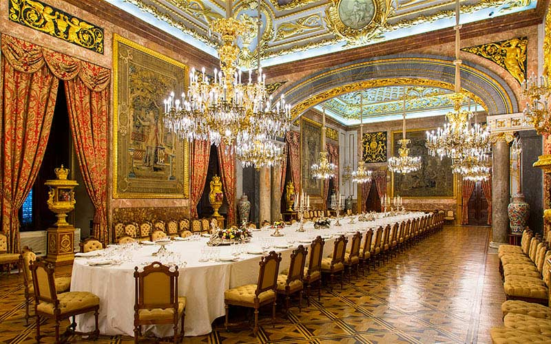 Salle à manger de Gala