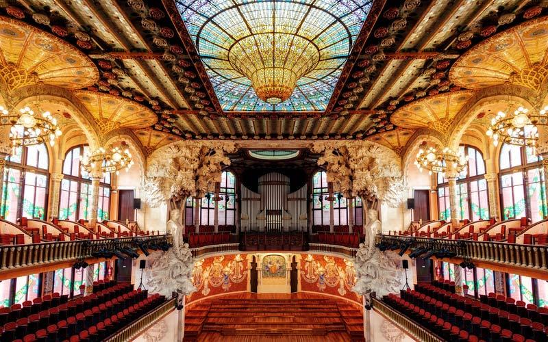 Salle de concert du Palais de la musique catalane