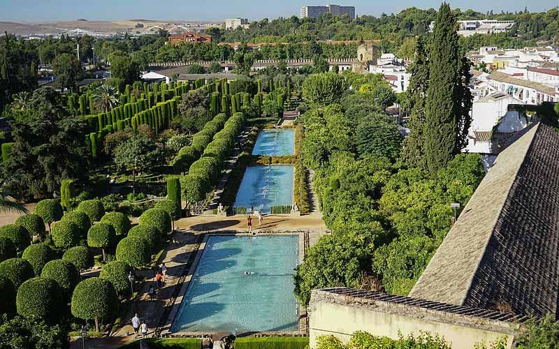 Jardins de l'Alcázar des Rois Chrétiens