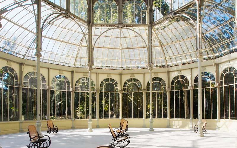 Intérieur du palais de Cristal