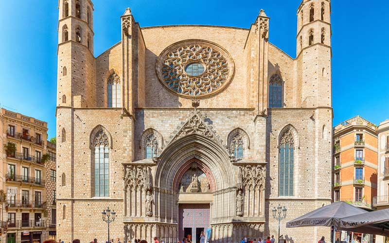 cathédrale Santa María del Mar