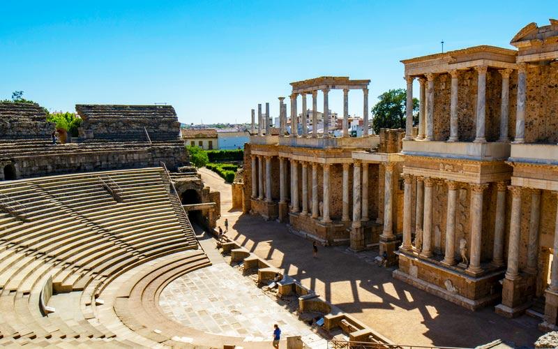 Théâtre romain de Mérida