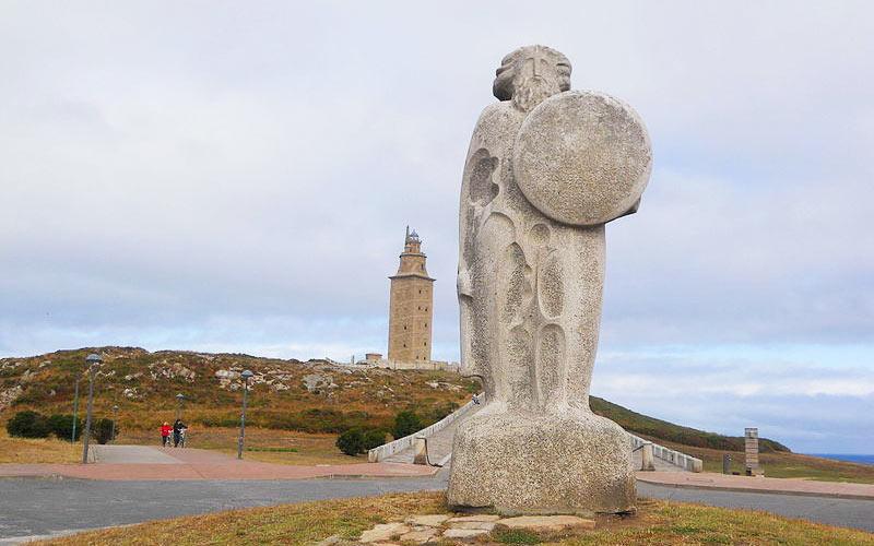 Statue de Breogán
