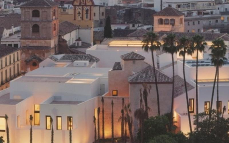 Panoramique des Bâtiments du musée