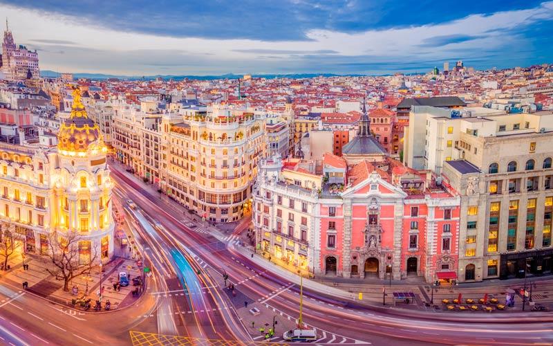 Madrid antiguo: la Calle Alcalá actualmente