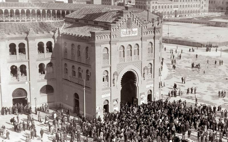 Madrid antiguo: La Plaza de Toros en los años 30