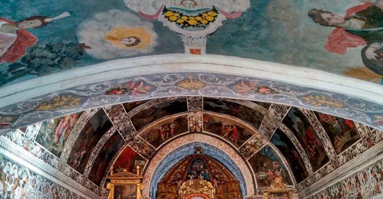 La Chapelle Sixtine d'Estrémadure cachée parmi des prairies