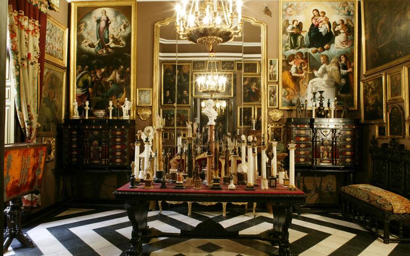 Salon des petites colonnes
