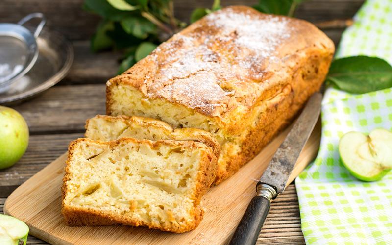 Gâteau aux pommes reinettes de El Bierzo