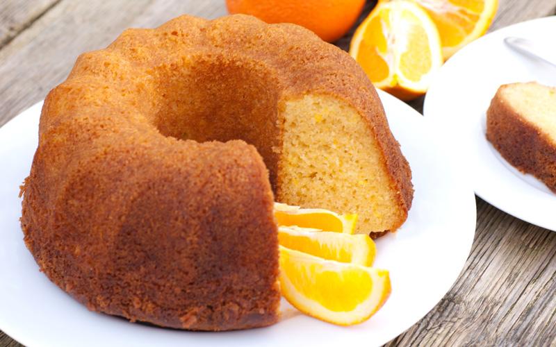 Gâteau valencien à l'orange