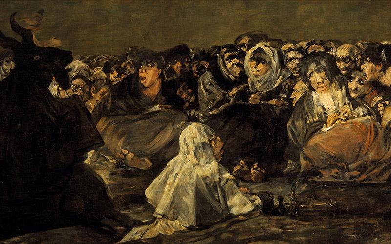 Le sabbat des Sorcières ou Le Grand Bouc. Francisco de Goya