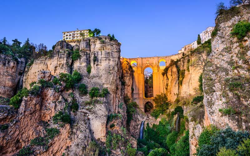 Nouveau pont à Ronda.