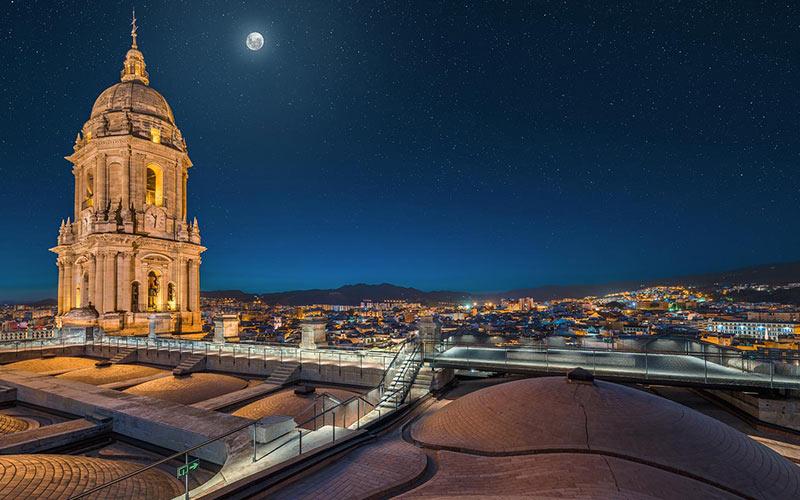 Voutes de la Cathédrale de Malaga