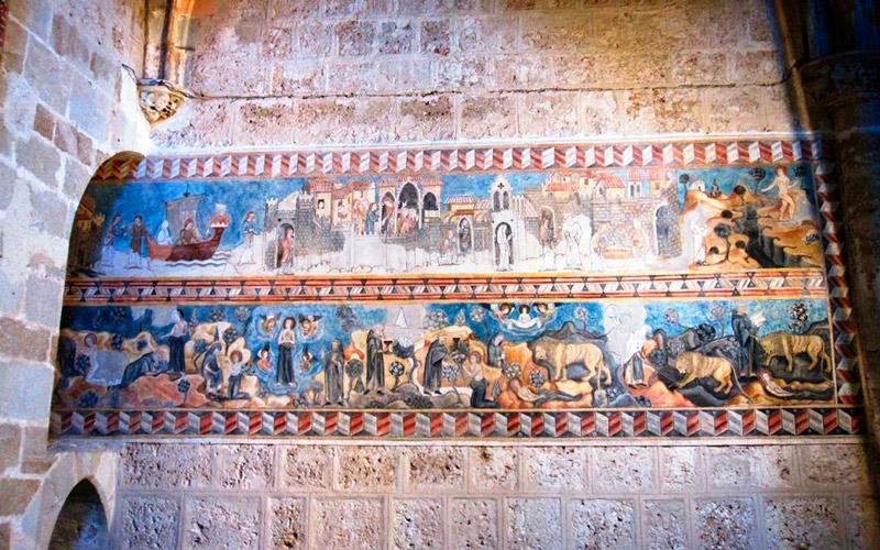 Fresques de Sainte Marie l'Egyptienne