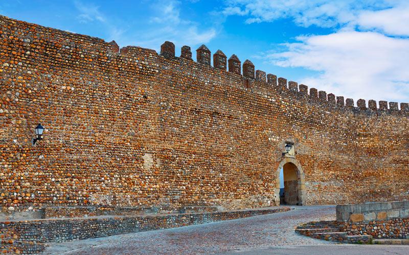 Muraille de Galisteo à Cáceres