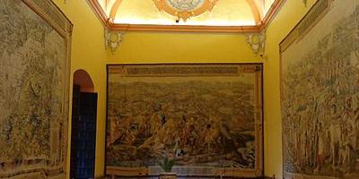 Intérieur de la Salle des tapisseries