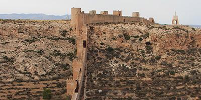 Muralla de Jairan Alcazaba de Almería