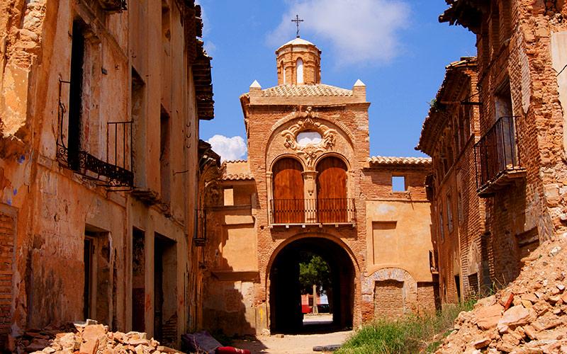 Vieux village de Belchite.