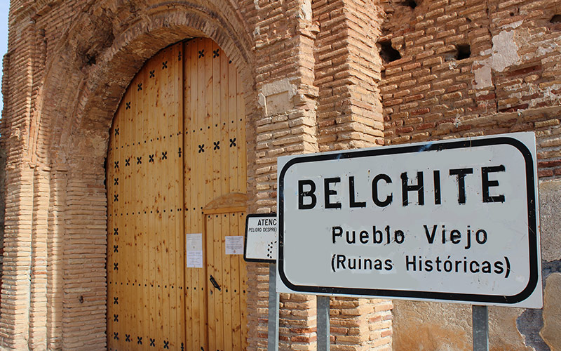 Vieux village de Belchite